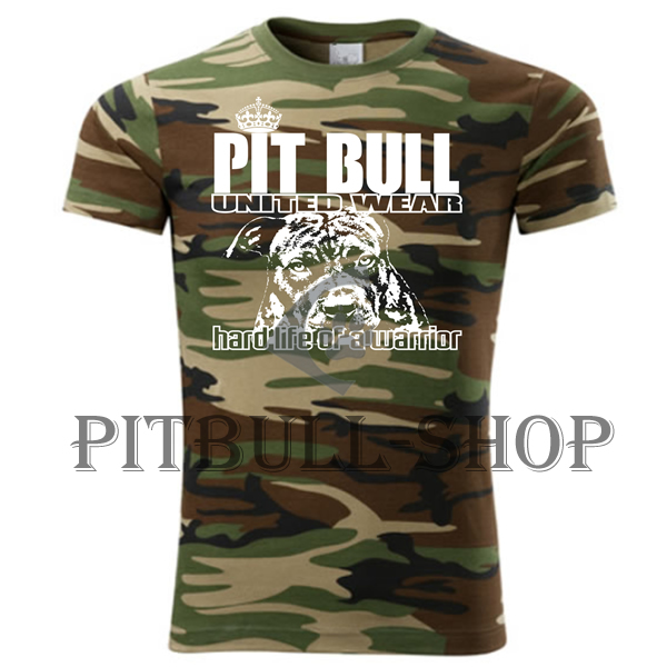 Tričko - Pitbull Hard Life Army