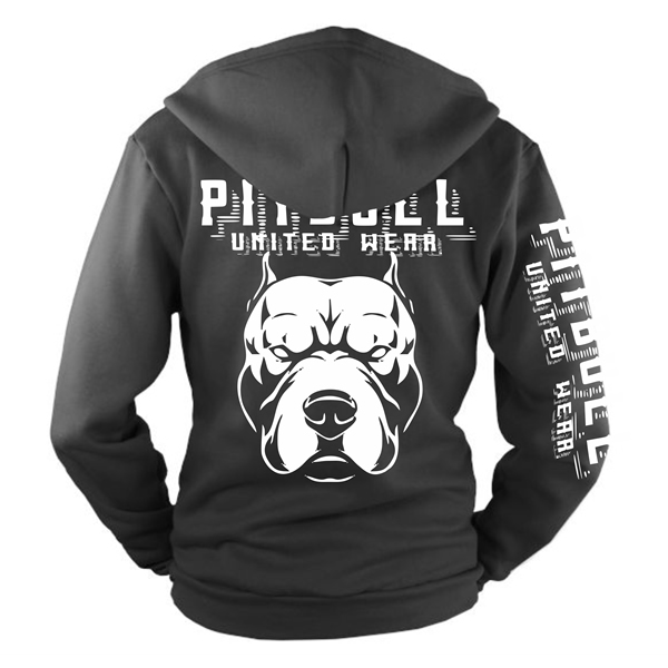 Mikina - PITBULL United Street Fighter II Black