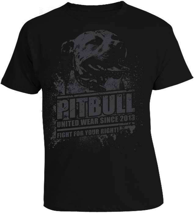 Tričko - Pitbull United Fight for your Right!