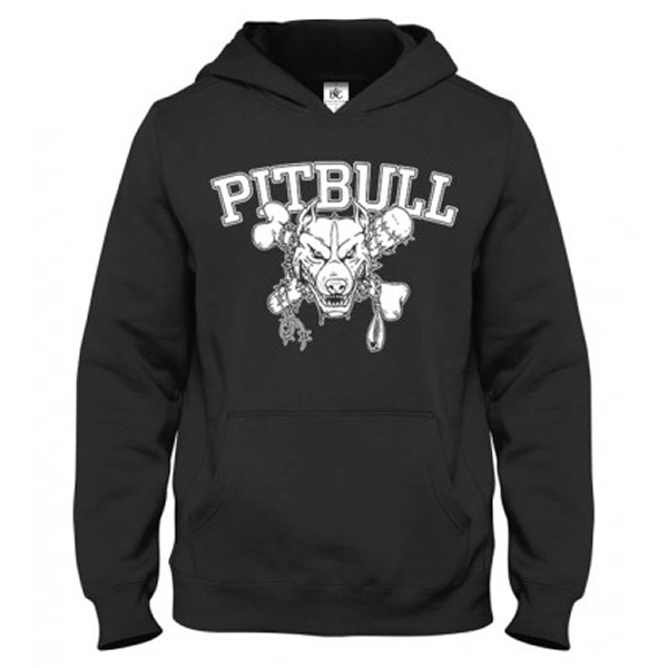 Mikina - PITBULL Strong Black