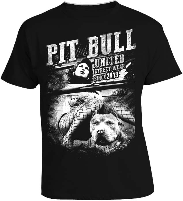 Tričko - Pitbull United Guardian Black