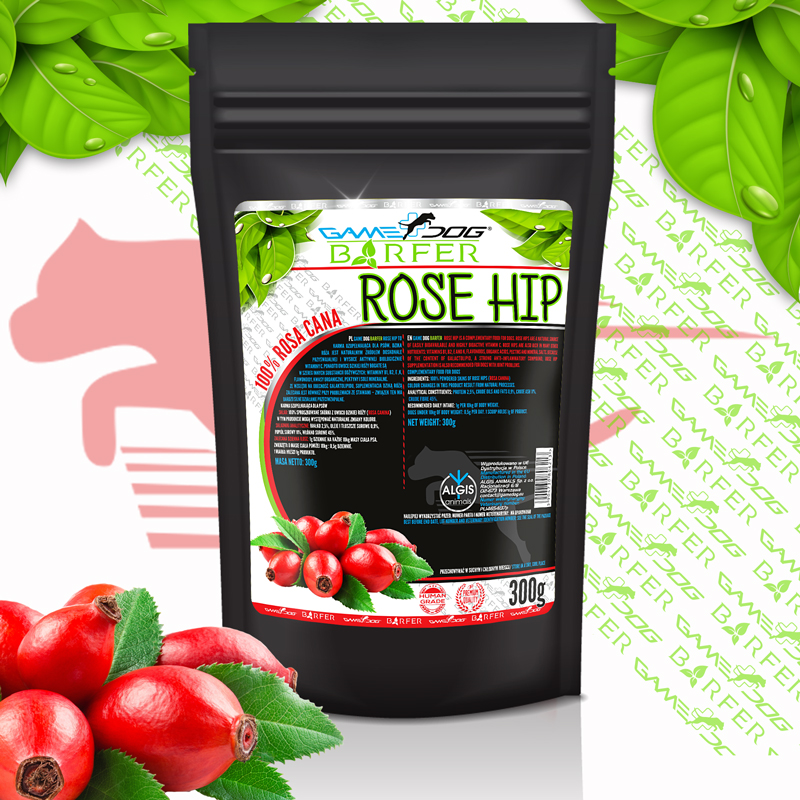 Game DOG BARFER Rose hip 300g