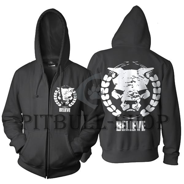 Mikina s kapucňou -Pitbull Elit3 Basic  139373845af